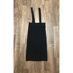 H&M Skirt w/ suspenders